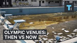 Rio Olympic Venues Now Olympic Venues Then Vs Now Youtube