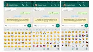 emojis for android whatsapp for android beta brings android 7 1 emojis to everyone