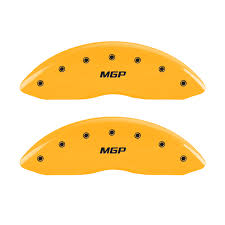 nissan 370z el salvador set of 4 front and rear yellow mgp caliper covers for 2009 2017