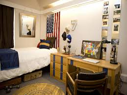Blue Dorm Room Modern White Wall And Blue Kids Room In College Decor Can Be Decor
