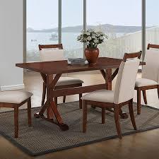 carolina cottage dining table shop carolina cottage florence wood dining table at lowes com