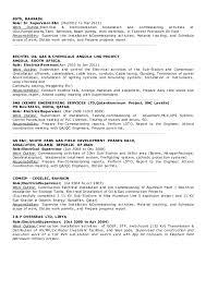 Electrical Supervisor Resume Sample by Cv Electrical Supervisor 2016