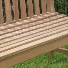 5ft Garden Bench Teak 3 Seat Chunky Park Garden Bench Sale Now On Your Price Furniture