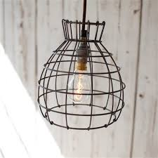 Wire Pendant Light Nkuku Deevika Rustic Wire Pendant Light Live Like The Boy