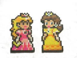 nintendo inspired princess and magnets ornaments or