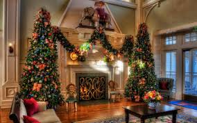 download wallpaper 3840x2400 christmas trees holiday decorations