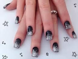 black acrylic nails designs u2013 slybury com