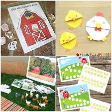 farm activities for lessons crafts printables and more