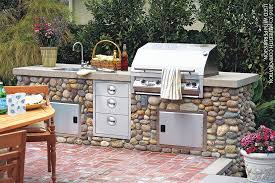 how to design a backyard how to design a stylish outdoor kitchen better homes and gardens