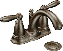 moen brantford kitchen faucet rubbed bronze moen 6610orb brantford two handle centerset lavatory faucet