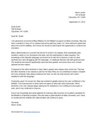 letter of recommendation format how to write a letter of recommendation 14 steps with pictures
