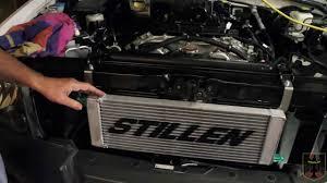 nissan 370z oil cooler vq40 stillen supercharger install part 7 transmission cooler