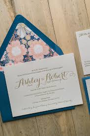 Wedding Invitations Packages Tiffany Suite Floral Package Letterpresses Weddings And Wedding