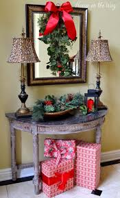 Christmas Home Decoration Ideas 209 Best Christmas Home Tours Images On Pinterest Christmas