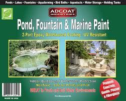 amazon com pond fountain u0026 marine paint 2 part acrylic epoxy