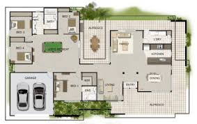 one story house blueprints beautiful single level home designs gallery interior design