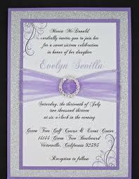 diy invitations templates quinceanera invitation templates u2013 gangcraft net