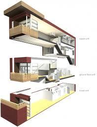Triplex Home Plans Very Narrow Lot House Plans