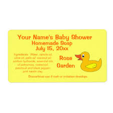 rubber duck baby shower shipping address u0026 return address labels
