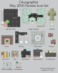 floor plan icons may u0027s city building map icons inkwell ideas