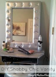 shabby chic diy vanity cheap is the new classy
