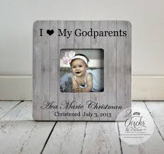 Godmother Gifts To Baby Godparent Gift Personalized Christening Picture Frame Godparent