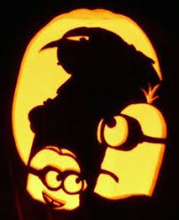 minion pumpkins painting u0026 carving from despicable me snappy