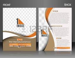 o internacional front u0026 back escola flyer u0026 poster template
