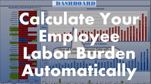 Overhead Calculation Spreadsheet The Labor Burden Calculator Shows You How To Calculate Your Actual