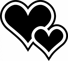 two hearts clipart many interesting cliparts