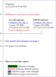 compare two versions of a pdf file in adobe acrobat