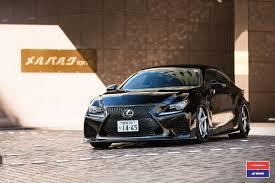 lexus rc f tire size lexus rc f by skipper japan has vossen wheels autoevolution