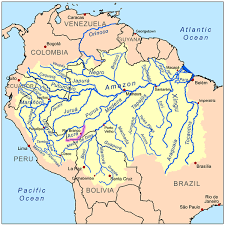 america map with rivers maps