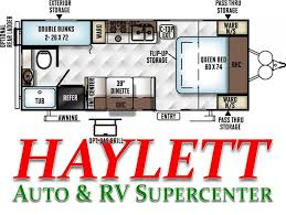 Floor Plan Auto Dealer by 2017 Forest River Rockwood Mini Lite 2306 Travel Trailer Coldwater