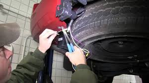 installation of a trailer brake controller on a 2011 nissan
