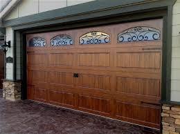 Martin Overhead Doors by Clopay Gallery Steel Woodgrain Garage Doors On Trac Garage Doors