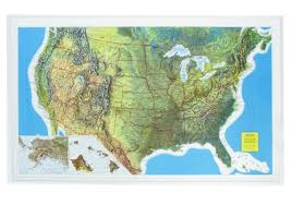 us relief map 3d relief usa map usa and us states wall maps northamerica