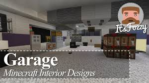 minecraft interior design garage youtube minecraft interior design garage