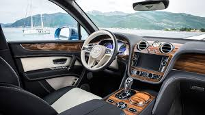 bentley 2017 interior bentley bentayga diesel 2017 review by car magazine