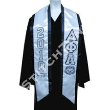 graduation scarf graduation sashes and stoles stitchzone segami designs