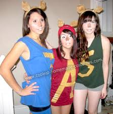 Halloween Costume Friends Cool Diy Alvin Chipmunks Group Costume Homemade
