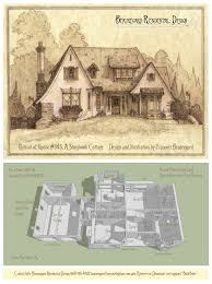 Plan Of House by Portrait Plan Of House 345c A Storybook Cottage By Built4ever On