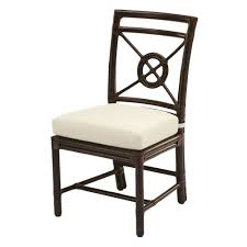 buy rattan target r side chair by mcguire furniture quick ship