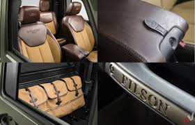 aev jeep interior aev brute double cab filson edition