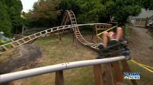 enjoy the thrills of a roller coaster in your own backyard nbc news
