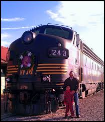 West Virginia travel express images The polar express train ride elkins west virginia 2013 jpg