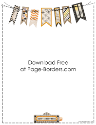 halloween paper border free halloween border printables customize onine