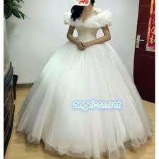 wedding dress costume costume cinderella 2015 ella white dress wedding bridal