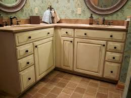 Paint And Glaze Kitchen Cabinets Glazed Kitchen Cabinets With Black Appliances Painting Over Image