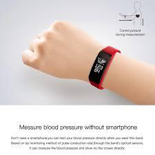 blood bracelet images Gimto sport smart bracelet watch blood pressure heart rate sleep jpg